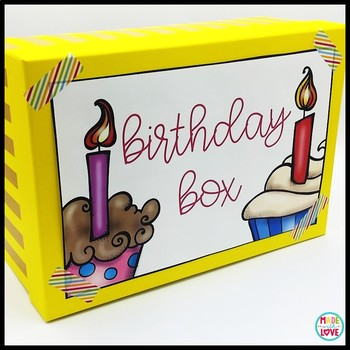 Teacher Birthday Box