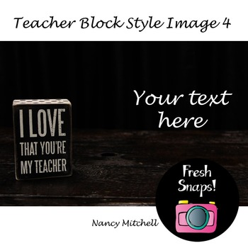 Teacher Block Style 4