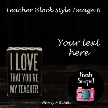 Teacher Block Style 6
