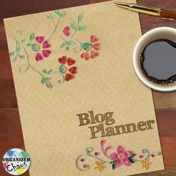 Blog Planner and Organization Binder
