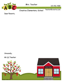 Teacher Border and Stationery Pack
