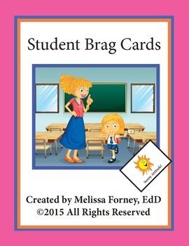 Student Brag Cards