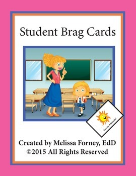Student Brag Cards