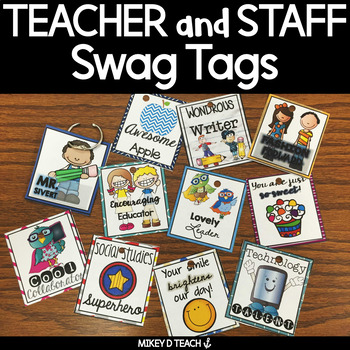 Teacher and Staff Brag Tags - Boost Faculty Morale!