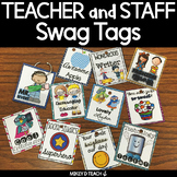 Teacher and Staff Swag Tags BUNDLE - Boost Faculty Morale!