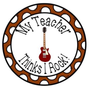 Teacher Brag Tags Buttons