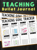 Teacher Bullet Journal Goal Tracker