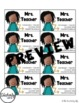 Teacher Business Cards - Mrs. Teacher *EDITABLE*