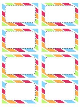 Teacher Business Cards!! Super Impressive for Meet the Teacher/Open House!