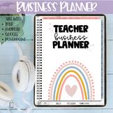 Teacher Business Planner | Digital Planner | Teacher Seller
