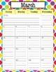 Teacher Calendar 2017-2018