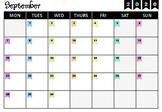 Teacher Calendar 2020-2021