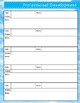 Teacher Calendar and Binder Resource - Sunny Clouds