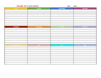 Teacher Calendar/Planner
