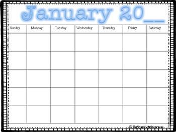 Teacher Calendars