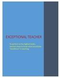 Teacher Can-do Statements