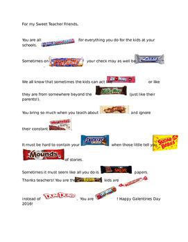 Teacher Candy Poem