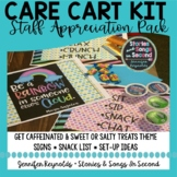 Teacher Care Cart Kit-- Staff Treat Table Posters
