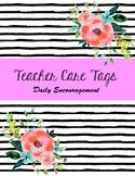 Teacher Care Tags
