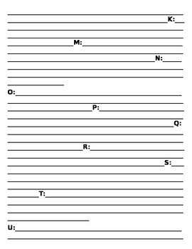 Teacher Cheat Sheet