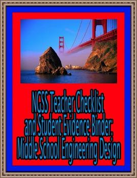 Teacher Checklist and Student Evidence Binder: Middle School Engineering Design