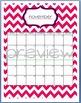 Teacher Chic Labels Bundle: Hot Pink & Navy