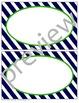 Teacher Chic Labels Bundle: Navy & Lime