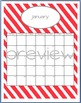 Teacher Chic SY 2015-2016 Calendar: Coral and Grey