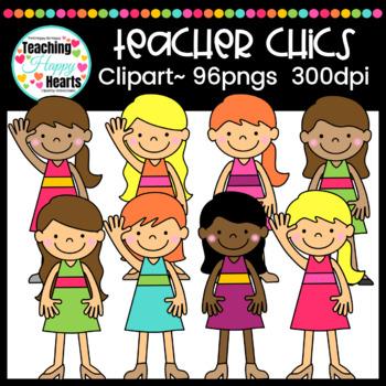 Teacher Chics Clipart