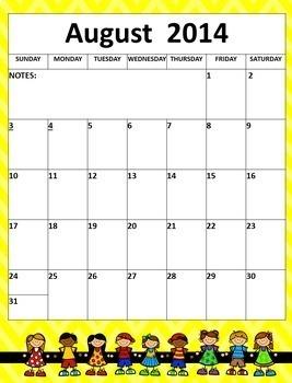 Teacher Binder Planner Calendar Editable