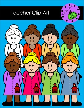 Teacher Clip Art
