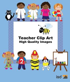 Teacher Clip Art Packet