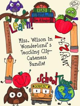 Teacher Clip-Cuteness Bundle!