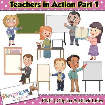 Teacher Clip art