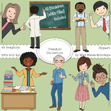 Teacher Clipart - Extra Large Clipart Pack