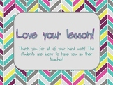 Teacher Compliment Cards