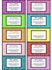 Teacher Contact Cards for Parents- Geometric/Honeycomb Design (Editable)