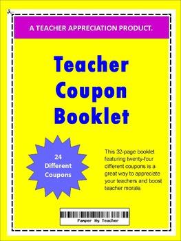 Teacher Coupon Booklet  2016-2017