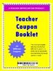 Teacher Coupon Booklet  2017-2018