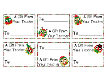 Teacher Coupon Christmas Gifts for Students