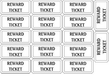 picture about Printable Reward Tickets titled Gain Tickets Patterns Method Worksheets Coaching