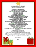 Christmas Card Teacher to Students Print and Distance Learning