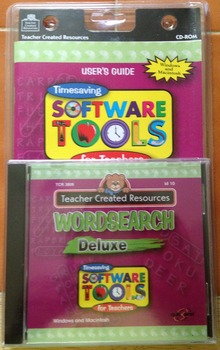 Teacher Created Resources Wordsearch Deluxe