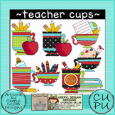 Teacher Cups Clipart
