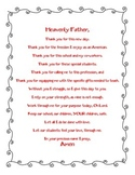 Teacher Daily Prayer 2014