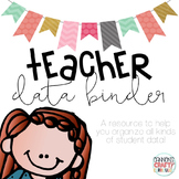 Teacher Data Binder