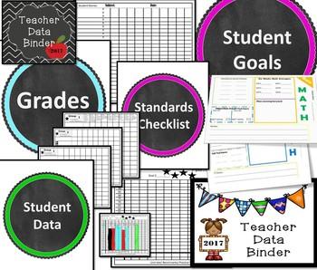 Texas Teacher Data Binder
