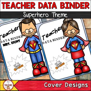 Teacher Data Binder (Editable)