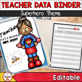 Teacher Data Binder (Editable)