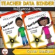 Teacher Data Binder (Editable) Hollywood Theme